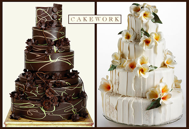 Cake Decorating with Modeling Chocolate. Cake photos provided by Cakework, San Francisco