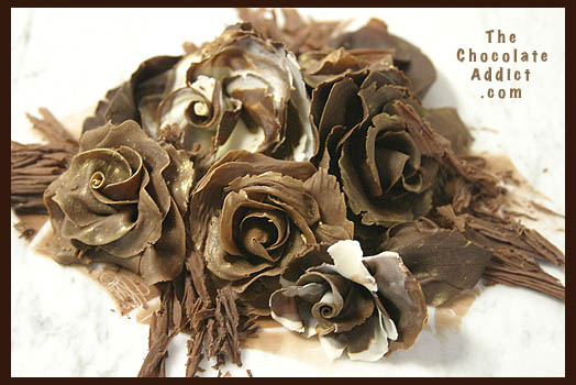 Making Flowers with Modeling Chocolate for Cake Decorating