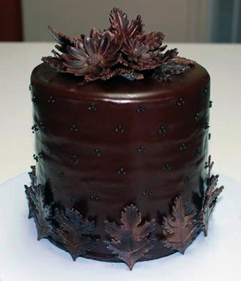 Chocolate Flower Decorations For Cakes Flowers Healthy