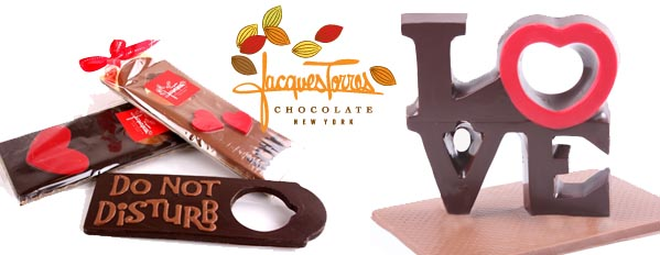 Lovely Valentine's Day offerings from Jacques Torres Chocolate
