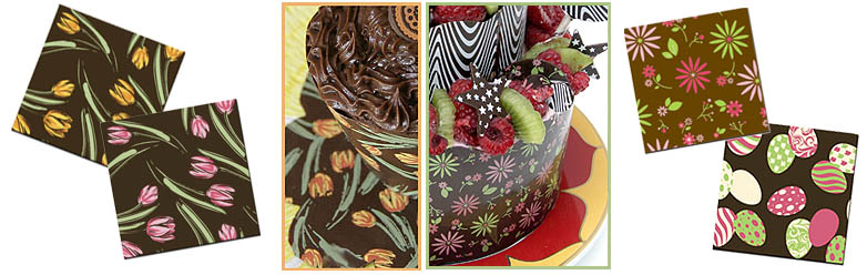 chocolate-transfer-sheets-spring