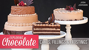 Making chocolate cakes,fillings and frostings