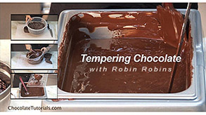 Online tempering chocolate class