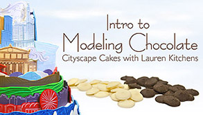 Modeling chocolate decorations class